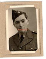 Photo Studio Portrait A Massoteau Tours Militaire Uniforme Marine Homme 18,5x13,5 Cm - Guerra, Militari