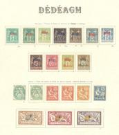 * DEDEAGH. Collection. 1893-1911 (Poste), Complète. - TB - Dedeagh (1893-1914)