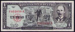 CUBA 1 PESO 1959 -SC-AUNC PICK90 - Kuba