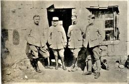 PHOTO FRANÇAISE - POILU AU 205e RI A MELICOCQ PRES DE CHEVINCOURT - COMPIÈGNE OISE - GUERRE 1914 1918 - 1914-18