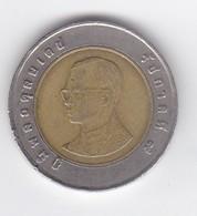 Thailande 10  Bath - Coins & Banknotes