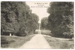 Marly-le-Roi - La Forêt - Route De La Grille Royale - 31 - L'Abeille - Écrite - Marly Le Roi