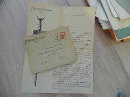 Provençal Occitan Nacioun Gardiano LAS Autographe + Enveloppe à En Tête Arnaud - Autographs