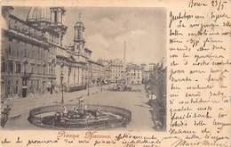 Roma Rome Italia Italy Piazza Navona        M 2500 - Places & Squares
