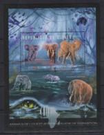 U975. Guinea - MNH - 2012 - Nature - Animals - Elephants - Bl. - Pflanzen Und Botanik