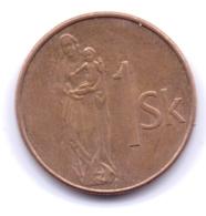 SLOVAKIA 2006: 1 Koruna, KM 12 - Eslovaquia