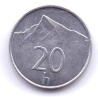 SLOVAKIA 1996: 20 Halierov, KM 18 - Slowakei
