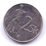 SLOVAKIA 1995: 2 Koruna, KM 13 - Eslovaquia
