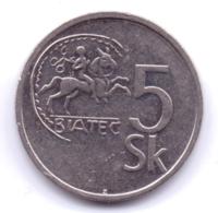 SLOVAKIA 1994: 5 Korun, KM 14 - Slowakei
