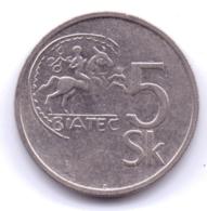 SLOVAKIA 1993: 5 Korun, KM 14 - Slowakei
