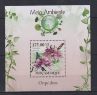 V765. Mozambique - MNH - 2010 - Nature - Plants - Flowers - Orchids - Bl. - Pflanzen Und Botanik