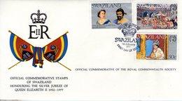 Swaziland. Enveloppe Fdc. Silver Jubilee Queen Elizabeth II - Swaziland (1968-...)