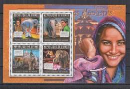 Y765. Guinea - MNH - 2011 - Nature - Animals - Elephants - Pflanzen Und Botanik