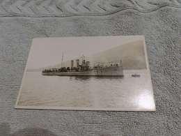 159 - Carte-Photo, Bateau De Guerre, Marine Yougoslave - Guerre