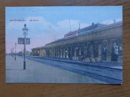 FELDPOST / Quiévrain: La Gare (station) -> Beschreven 1916 - Quiévrain
