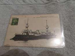 161 - CPA ,  Marine Militaire , Amiral-Charner , Croiseur Cuirassé - Warships