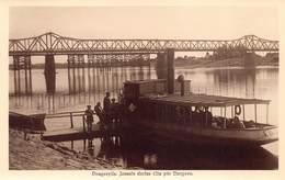 Letland    Daugavpils  Jau,ais Dzelzs Tilts Pär Daugavu  Boot Schip Boat Bateaux  Latvija;  Latveja    M 2514 - Lettonie
