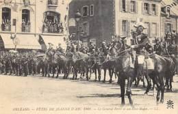 CPA 45 ORLEANS FETES DE JEANNE D ARC 1909 LE GENERAL FERRE ET SON ETAT MAJOR Voir Descriptif - Orleans