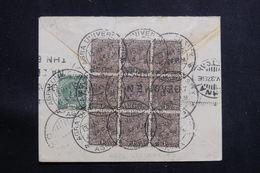 INDE - Affranchissement Plaisant Au Verso D'une Enveloppe De Agra Pour Athènes En 1937 Par Avion - L 60649 - 1936-47  George VI