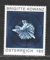 """Österreich 2020: Block """"Brigitte Kowanz-Opportunity"""" Gestempelt (s. Foto) - 2011-... Gebraucht"""