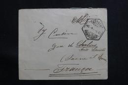 PORTUGAL - Enveloppe De Porto Pour La France En 1914, Affranchissement Plaisant Au Verso - L 60652 - Covers & Documents