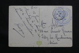 """POLOGNE - Cachet """" Armée Polonaise - Escadrille 66 """" Sur Carte Postale De Krakau En FM En 1919 Pour La France  - L 60655 - Brieven En Documenten"""