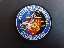 Écusson Gendarmerie Section De Recherches Strasbourg - Police & Gendarmerie