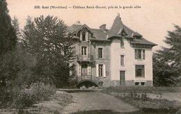 PAS CHER - Morbihan - GUER - Château De Saint Gurval - France