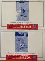 2 BUVARDS MAZDA - Limpieza