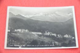 Torino Lanzo Torinese Veduta Delle Alpi E Collegio D. Bosco 1950 Foto Bogliaccino - Italia