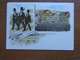 Zwitserland - Suisse / Gruss Aus Appenzell -> Unwritten, Not An Old Card - AI Appenzell Rhodes-Intérieures