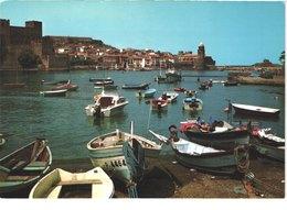 FR66 COLLIOURE - CPM 10 * 15 - Le Port Et Plage Du Faubourg - Barques De Pêche - Animée - Belle - Unclassified