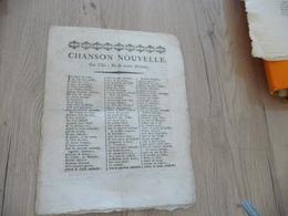 Recueil Chansons Nouvelles T Dont 1 En Provençal Occitan Mistral XIX ème - Documents Historiques