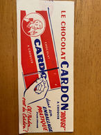 2 BUVARDS CHOCOLAT CARDON - Cacao