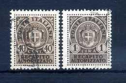 1945 LUOGOTENENZA Recapito Autorizzato 6/7 USATI - 5. 1944-46 Lieutenance & Umberto II