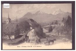 BROC - CHATEAU D'EN BAS - ATTELAGE - TB - FR Fribourg