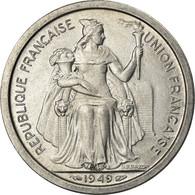 Monnaie, Nouvelle-Calédonie, 2 Francs, 1949, Paris, SUP+, Aluminium, KM:3 - New Caledonia