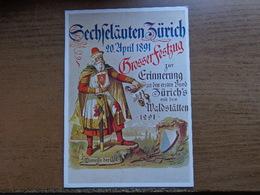 Zwitserland - Suisse / Zurich, Grossergestzug ... -> Unwritten, Not An Old Card - ZH Zurich