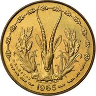 Monnaie, West African States, 5 Francs, 1965, Paris, SPL - Monedas
