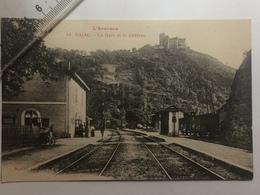 NAJAC - La Gare Et Le Château - Najac
