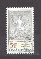 Czech Republic 2002 ⊙ Mi 312 Sc 3163 Max Svabinsky's Stamp From 1938, B. Heinz. Tschechische Republik. C6 - Czech Republic