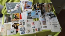 Großes Lot Briefe, Schwarzdruck, Sonderkarten Minestero Della Poste Etc. - Timbres