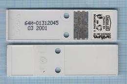 RUSSIA.Saratov Cheboksary Plastic Slot-key Card. Phonecard. 03/2001 - Russia