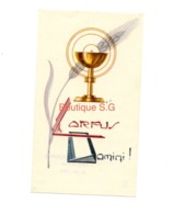 Image Pieuse / Religion Croyance / Eglise De Saint Roch 26/05/1955 Charron Marie Christine SH 5 - Santini