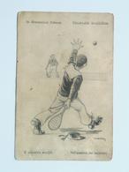 Dworak 6 Pola Pula Marine Humor K.U.K. KuK Kriegsmarine Caricature Karikatur 1917 C.F.P.. Fano Nr 213 Tenis - Guerre