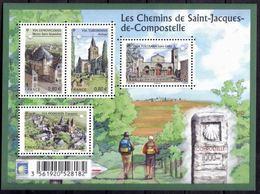 "FR Bloc YT F4725 Feuille "" St-Jacques De Compostelle "" 2013 Neuf** - Ongebruikt"