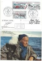 YT 225A 50 Ans Des Expéditions Polaires Françaises - Gérant Postal De Dumont D'Urville - FDC - FDC