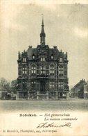 Hoboken - Bouchout : Het Gemeentehuis.  // Anvers// Antwerpen. - Antwerpen