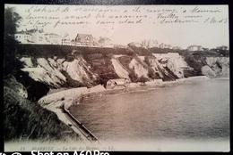 BIARRITZ - LE CÓTE DES BASQUES - VIAGGIATA 1921 - Biarritz