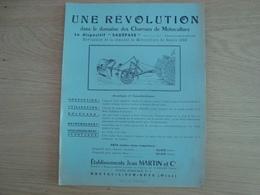 DOCUMENT PUBLICITAIRE ETABLISSEMENT JEAN MARTIN  MOTOCULTURE BRETEUIL-SUR-NOYE - Agriculture